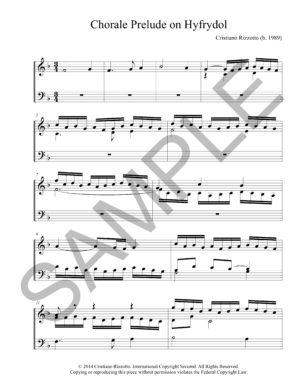 Cristiano Rizzotto – Chorale Prelude on Hyfrydol (Organ)