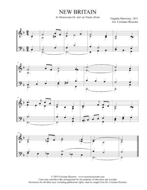 NEW BRITAIN Hymn Reharmonization, Arrangement by Dr. Cristiano Rizzotto (Dr. Kris Rizzotto)